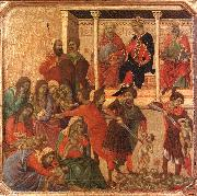 Duccio di Buoninsegna Slaughter of the Innocents oil painting artist